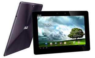 Vergleich: die grossformatigen Tablets Asus und iPad 4 Retina an der Tabellenspitze