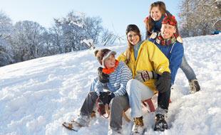 Sports d'hiver - la luge a la cote, mais gare aux accidents !