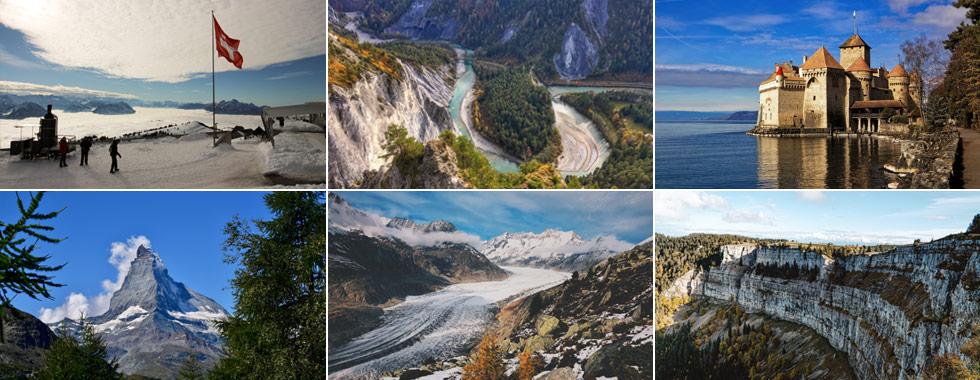 La top ten delle destinazioni imperdibili in Svizzera!