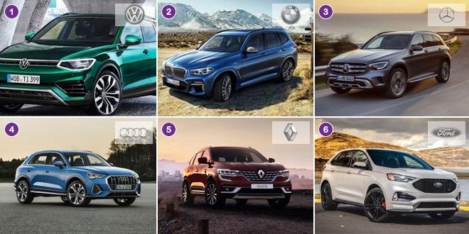 Welches sind die beliebtesten Automarken in der Schweiz in 2021? Die Top 10!